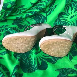 Rampage Shoes - NWOT. Chunky 4 1/2 inch heels.